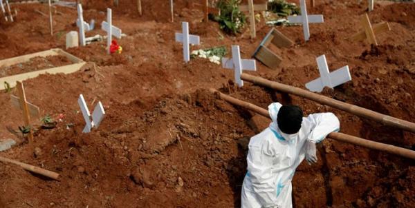 رویترز؛ فوتی های جهانی کرونا از مرز 5 میلیون نفر گذشت